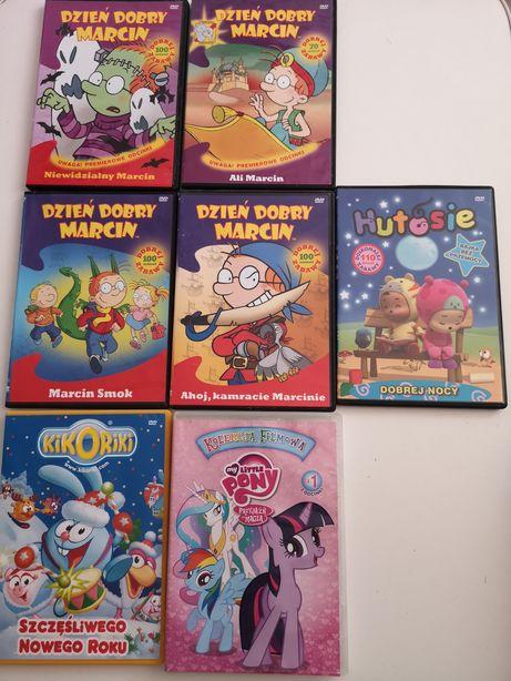 Płyty DVD z bajkami dla dzieci dzień dobry Marcin Little pony