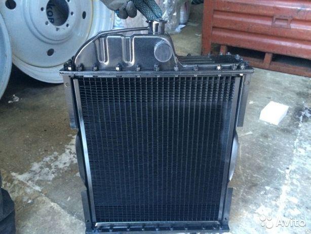 Радиатор на МТЗ-80,МТЗ-82,ЮМЗ алюминий,латунь,медь