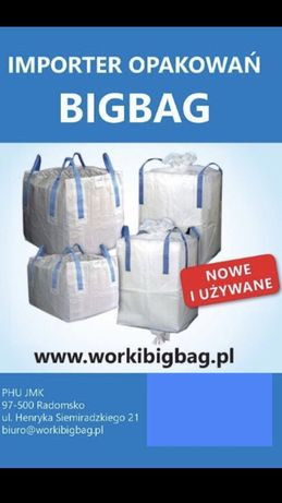 Importer worki Big Bag Bagi Nowe i Używany Największy Wybór BigBag