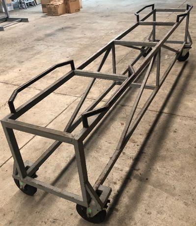 Wózek do profili stalowych