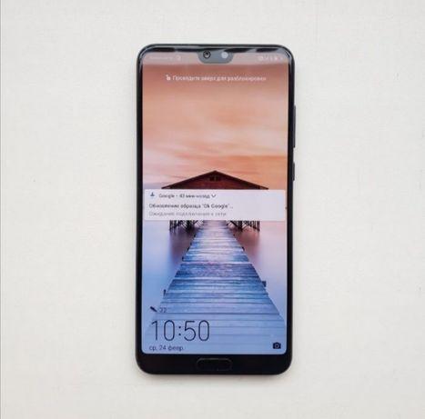 Huawei p20 pro 6/128 полный комплект