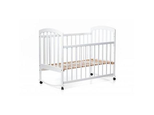 Детская кроватка кровать Наталка белая в наличии в Запорожье