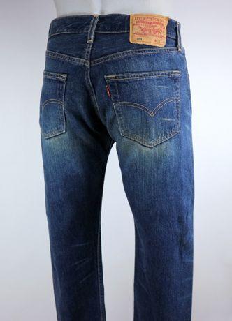Levis 501 spodnie jeansy W32 L30 pas 2 x 41 cm