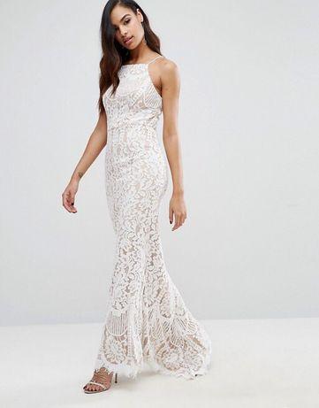 Suknia sukienka koronkowa syrena Jarlo - Ariel ślubna, poprawiny