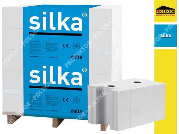 SILKA E24 pustak silikatowy bloczek blok cegła silikatowa sylikat P+W