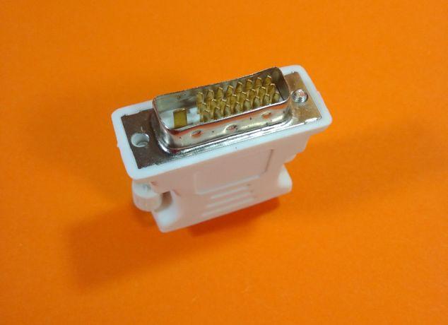 Переходник / адаптер VGA - DVI-D (24+1 PIN) 24 пина