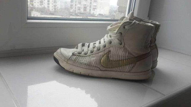 Кроссовки из натуральной кожи   Nike