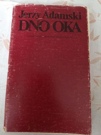 książka Dno Oka Jerzy Adamski