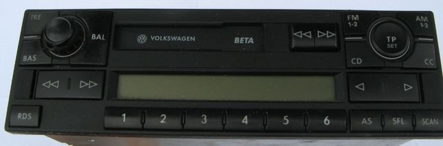 Radio VW Beta + kod
