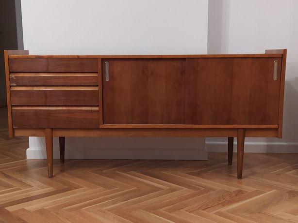 Komoda Bytomskie Fabryki Mebli sideboard PRL vintage