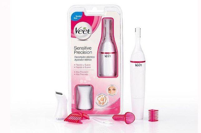 Универсальный триммер Veet Sensitive Precision Beauty Styler + бонус