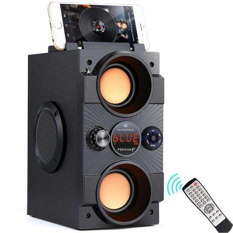 Głośnik Bluetooth Feegar 4000mah Radio USB SD AUX funkcja karaoke