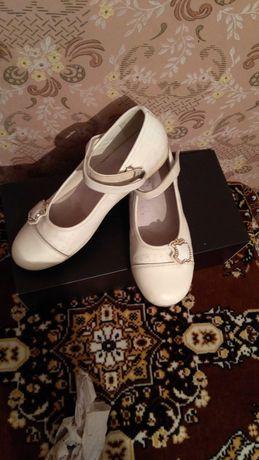 Кожаные туфли Шалунишка