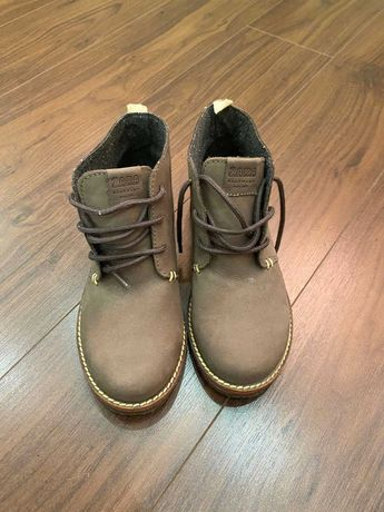 Ботинки Zara р. 34 кожа -500 грн, новые