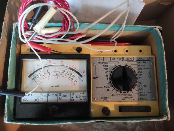 Miernik elektryczny produkcji ZSRR typ 43101 PRL
