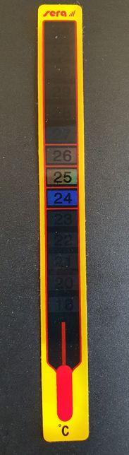Termometr przyklejany na akwarium stan nowy