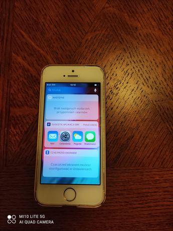 iPhone 5S kolor złoty