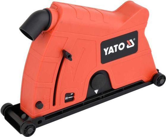 Кришка з відсмоктуванням пилу для різання болгаркою YATO YT-82990