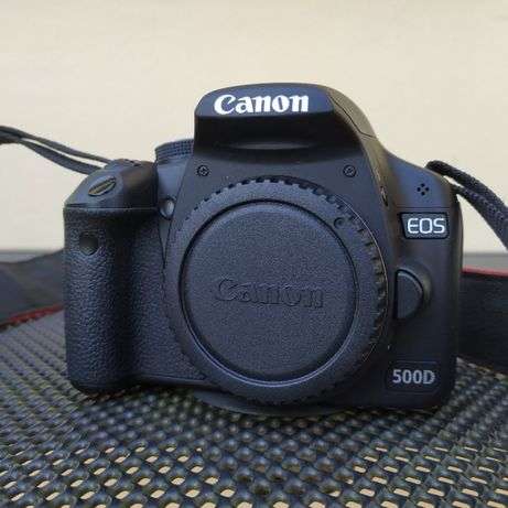 Canon EOS 500D + EFS 18-55 IS + EFS 50-250 IS + EF 50mm 1.8 + Extras