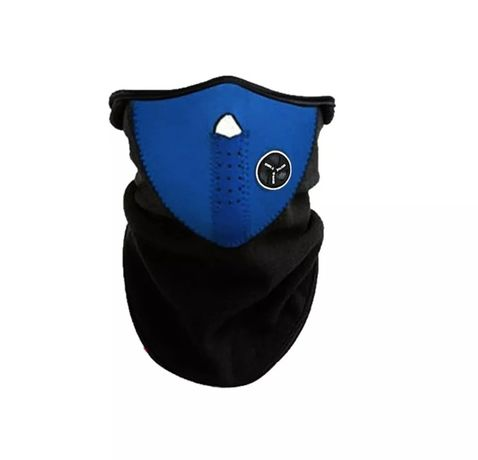 Защитная маска для лица от ветра/балаклава/подшлемник синий, красный