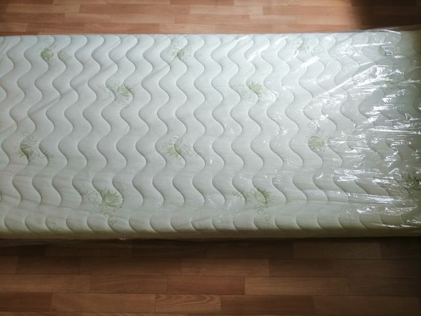 Nowy dwustronny materac aloe vera