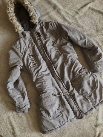 Куртка детская парка холодная осень на девочку
