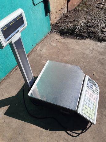Весы с печатью этикеток Штрих-принт M 15-2.5