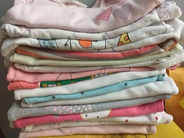 Body bluzki spodnie 80 86