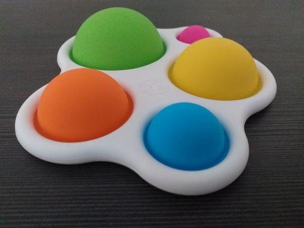 Sensoryczne bąbelki - zabawka edukacyjna(Montessori)