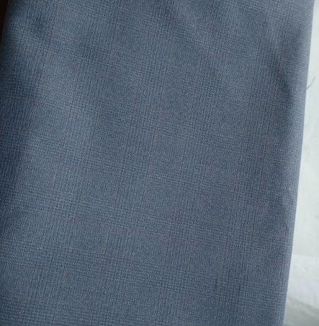 190 см отреза из костюмной ткани серого цвета