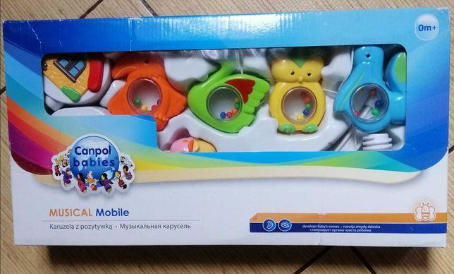 Мобіль іграшка музична на ліжечко