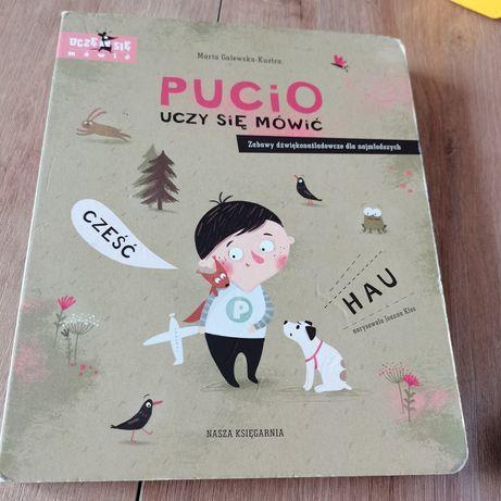 Pucio uczy się mówić Marta Galewska Kustra