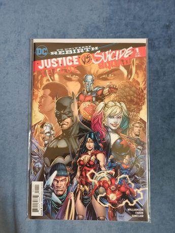 Комикс JL vs SS #1