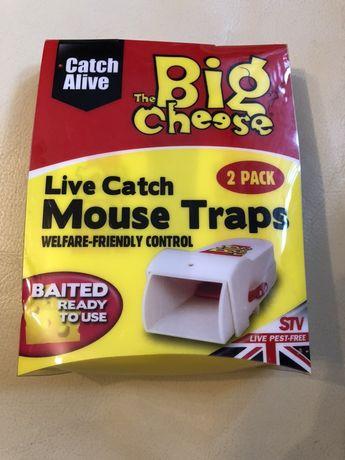 Pułapka na myszy żywołapka 2 sztuki