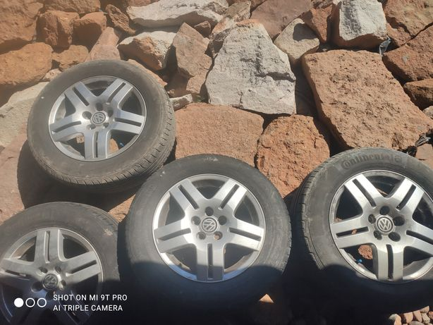 Oryginalne alufelgi 15' VW