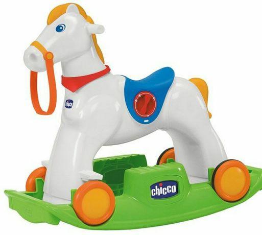 Лошадка chicco в идеальном состоянии