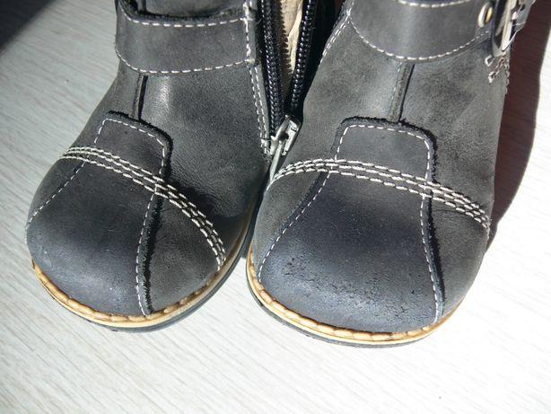 зимние детские ботинки на меху ортопедиа 21 размер