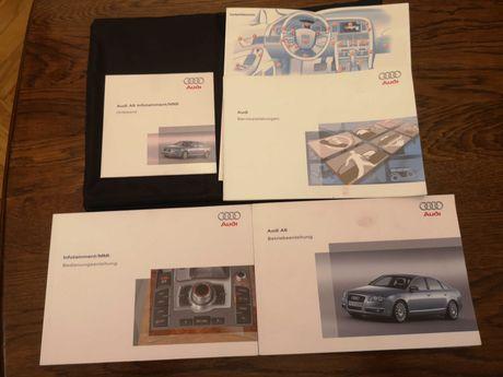 Książka serwisowa Audi A6 C6, etiu CD