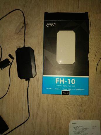 Deepcool FH-10 Фан хаб (Сплитер, разветвитель) на 10 кулеров fan hub