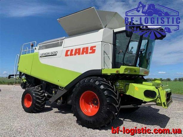 Зерноуборочный комбайн CLAAS Lexion 600 2007 года