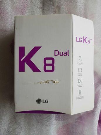 LG K8 dual  opakowanie