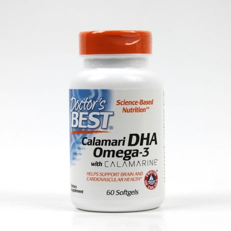 Calamari DHA Omega-3 with Calamarine 500 mg 60 kap.