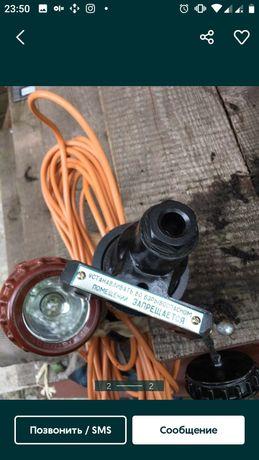 Светильник фонарь переносной сетевой новый, длинный провод