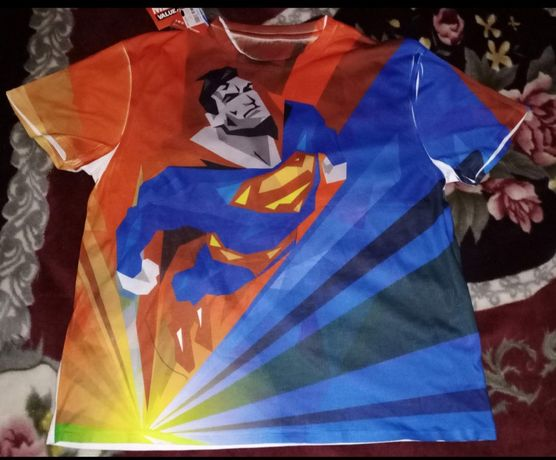 Футболка Superman, хлопок, 54р