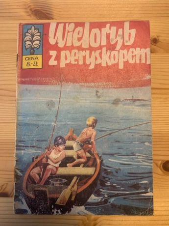 Kapitan Żbik Wieloryb z Peryskopem wydanie I rok 1973