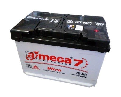 Akumulator AMEGA ULTRA 7 75Ah 790 A Jasło