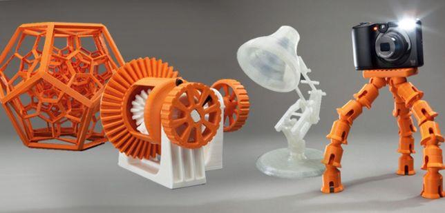 Печать на 3д принтере и литье под давлением