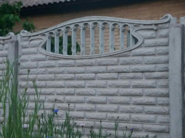 вес бетонного столба для забора