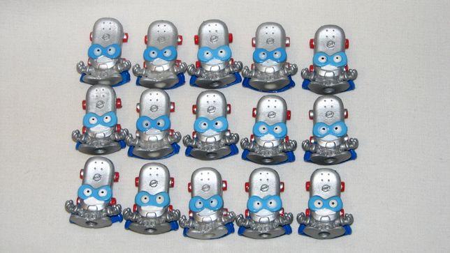 Srebrne figurki Super Zings seria 3 - wszystkie rodzaje