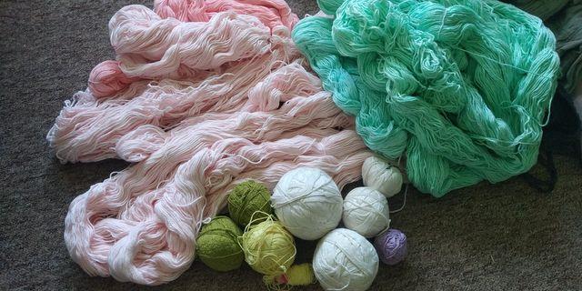 Bawełniane nici  muliny